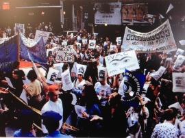 Protesta de WAC en el Guggenheim 1992
