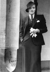 Marlene Dietrich, París, 1933