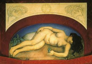 Diego Rivera-Tierra virgen-1926