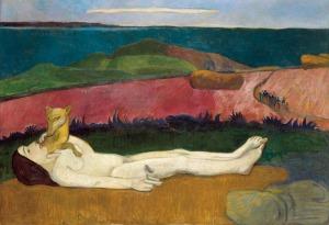 Paul Gauguin-La pérdida de la virginidad-1891