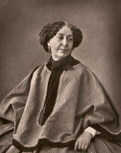 George Sand fotografiada por Nadar en 1864