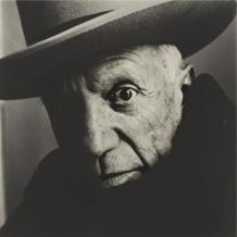 Picasso, fotografiado por Irving Penn en 1957