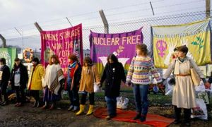 Greenham Common Women´s Peace Camp, Inglaterra, 1983