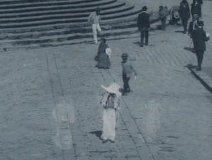 José Domingo Laso, fotografía del álbum Quito a la vista, 1910, detalle.