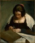 Diego Velázquez, La costurera c 1640-1650, National Gallery of Art Washington