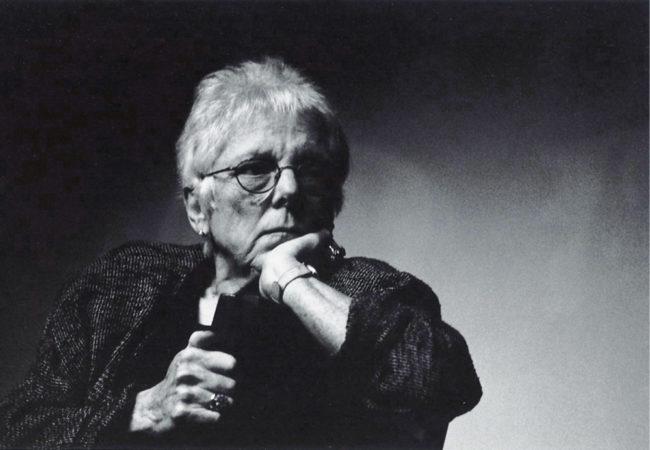 Linda Nochlin, 2000. © Annie Appel.